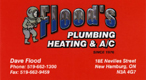 Flood's Plumbing Heating & AC